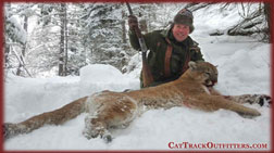 mountain lion hunts in Western Colorado with Cat Track Outfitters